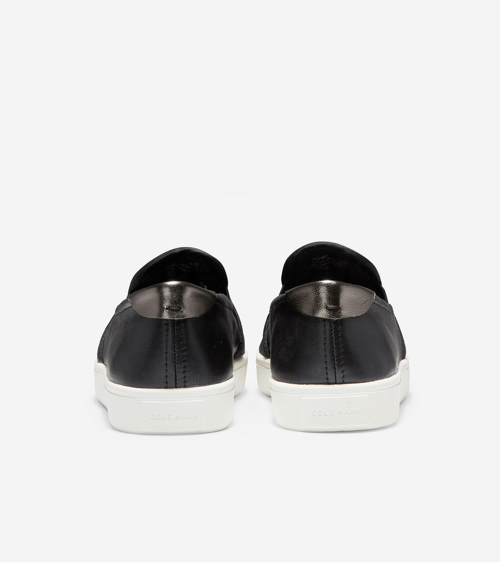 Womens GrandPrø Puffer Slip-On Sneaker