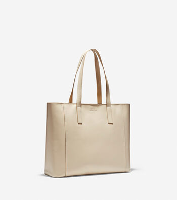 Grand.ØS Leather East-West Tote