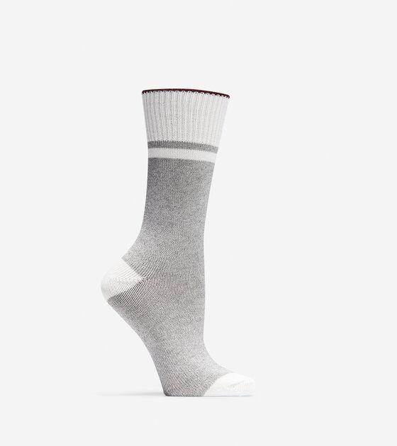 Bags & Outerwear > Melange Hiking Boot Socks