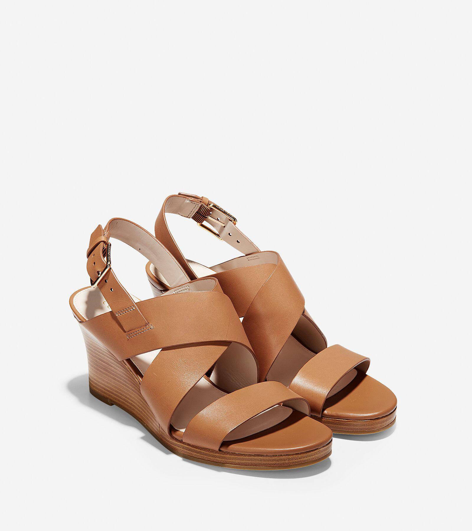 Cole Haan Womens Penelope Wedge II Sandal