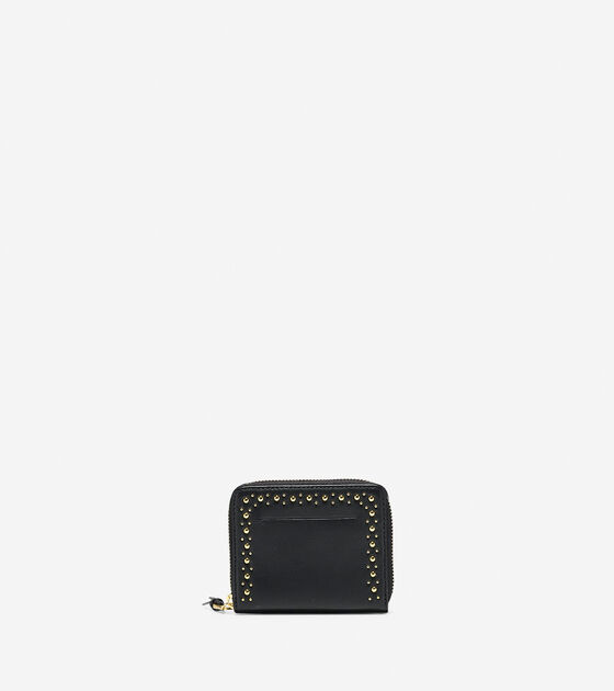 Accessories & Outerwear > Marli Studded Small Zip Wallet