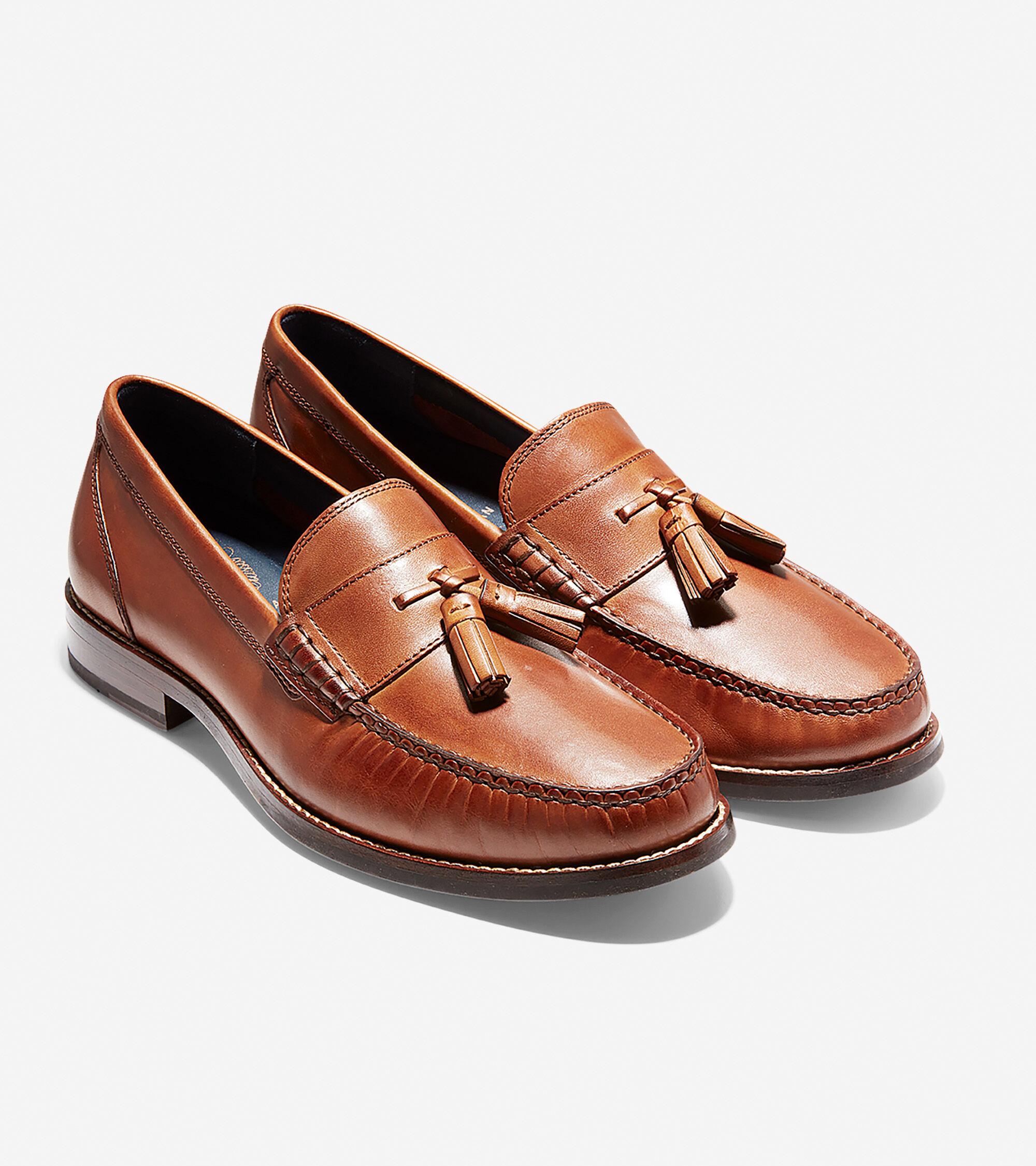 0481e43a418 Men s Pinch Grand Classic Tassel Loafers in British Tan