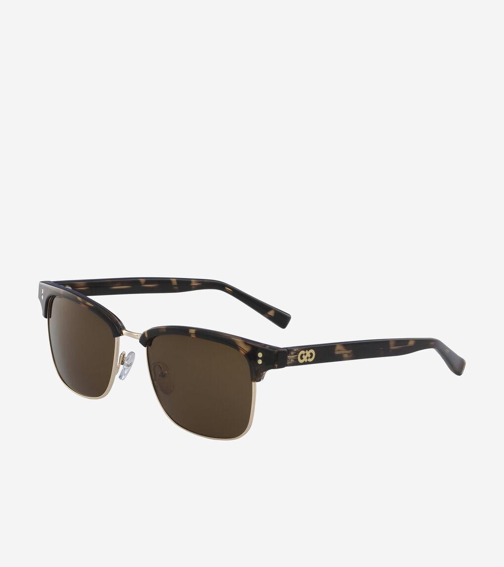 Mens Acetate Square Sunglasses