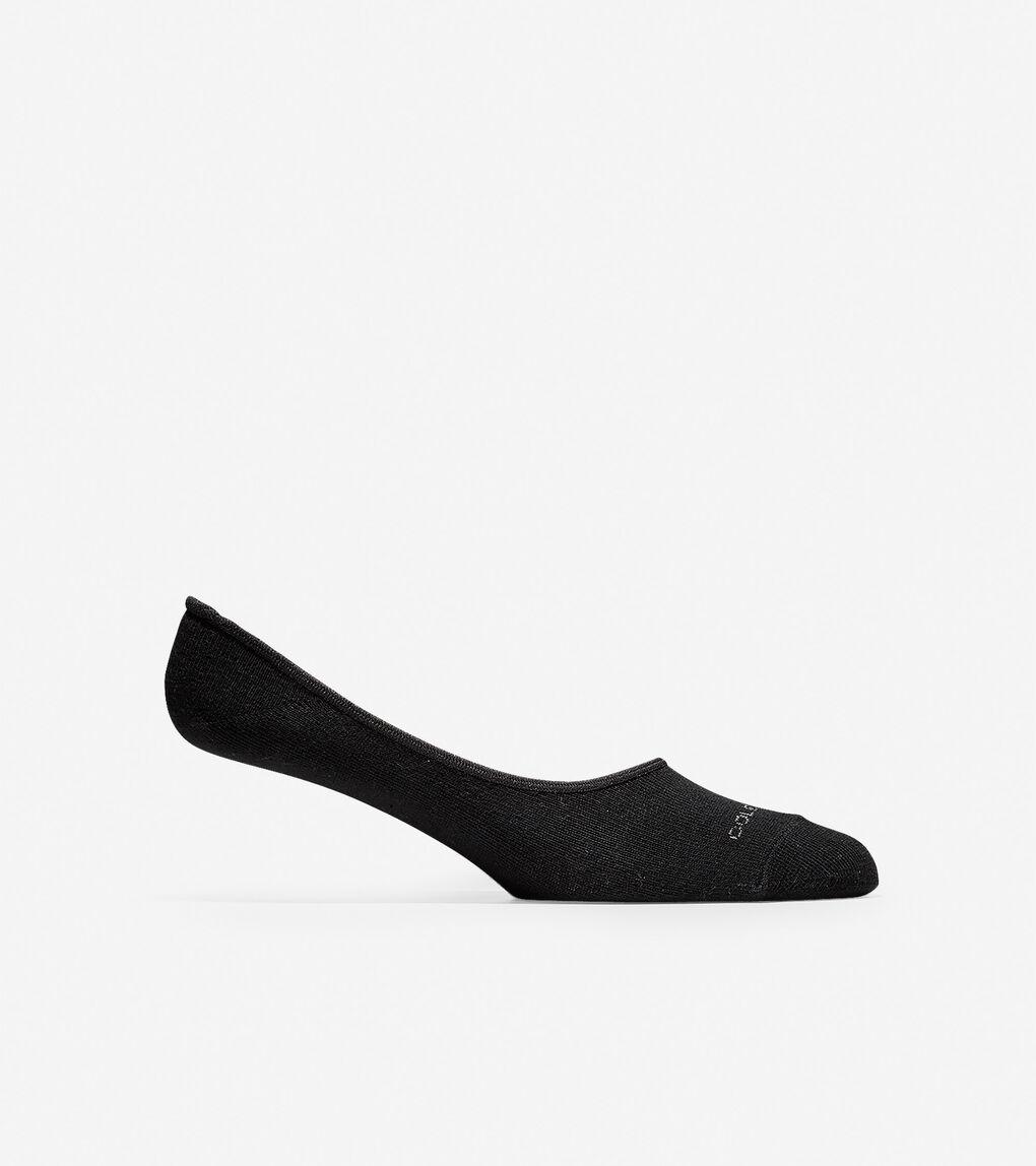Mens Town Stripe No-show Sock Liner - 2 Pack