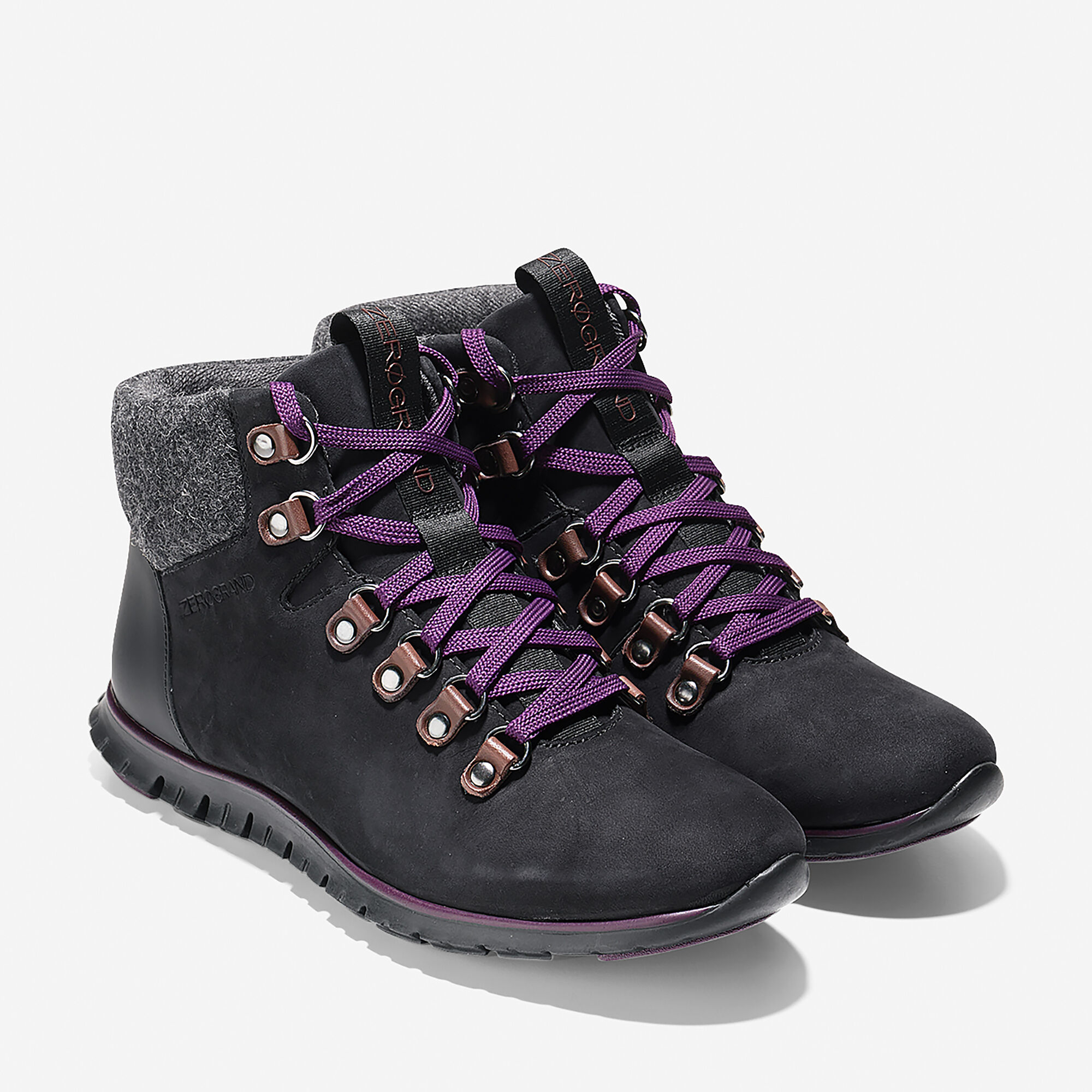 5eb537638ceb95 ZerøGrand Waterproof Hiker Boot in Black-Elderberry Waterproof ...