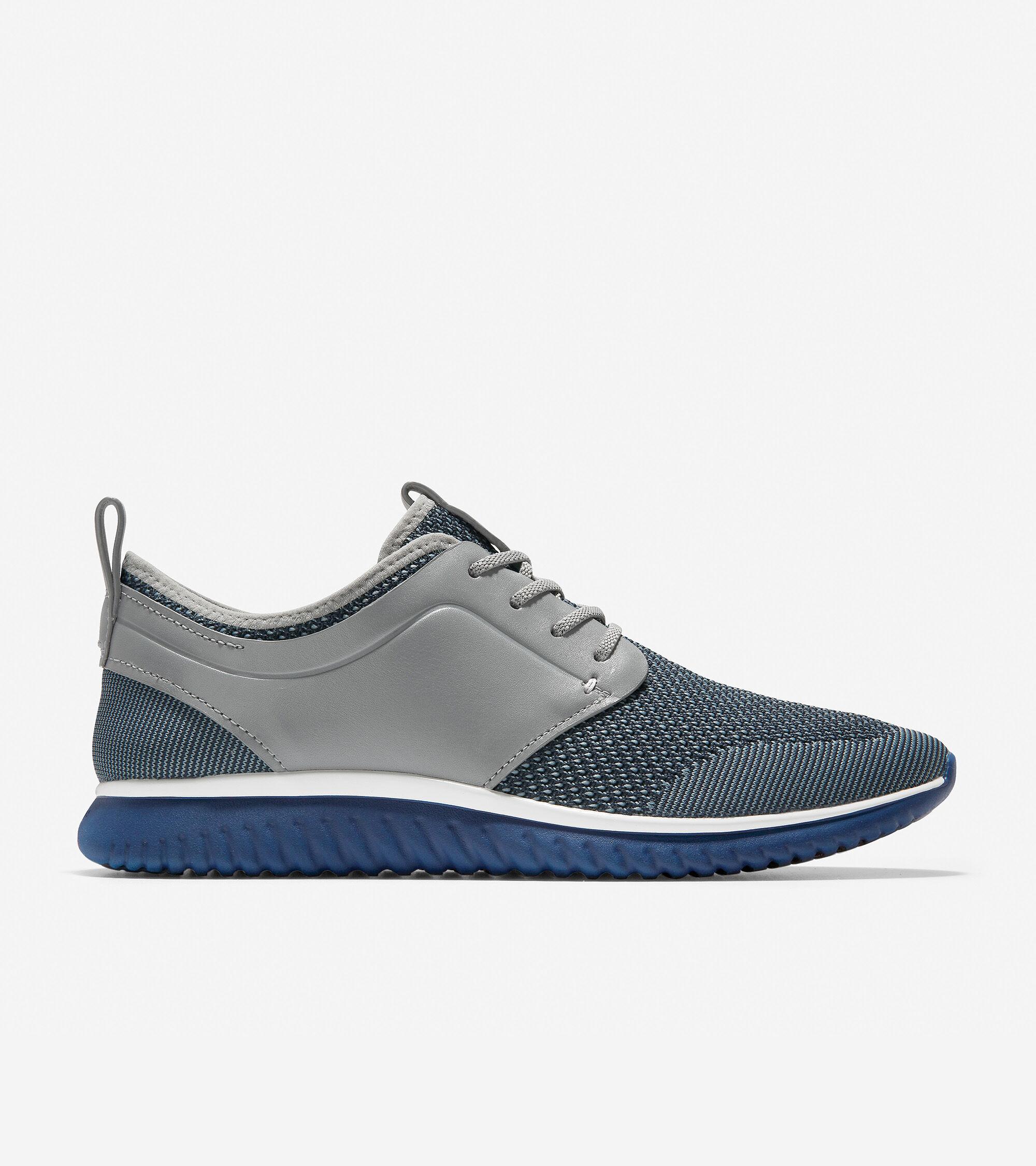 Men's GrandMøtion Knit Sneaker in Gray