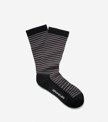 Grand.ØS Multi-Stripe Crew Socks