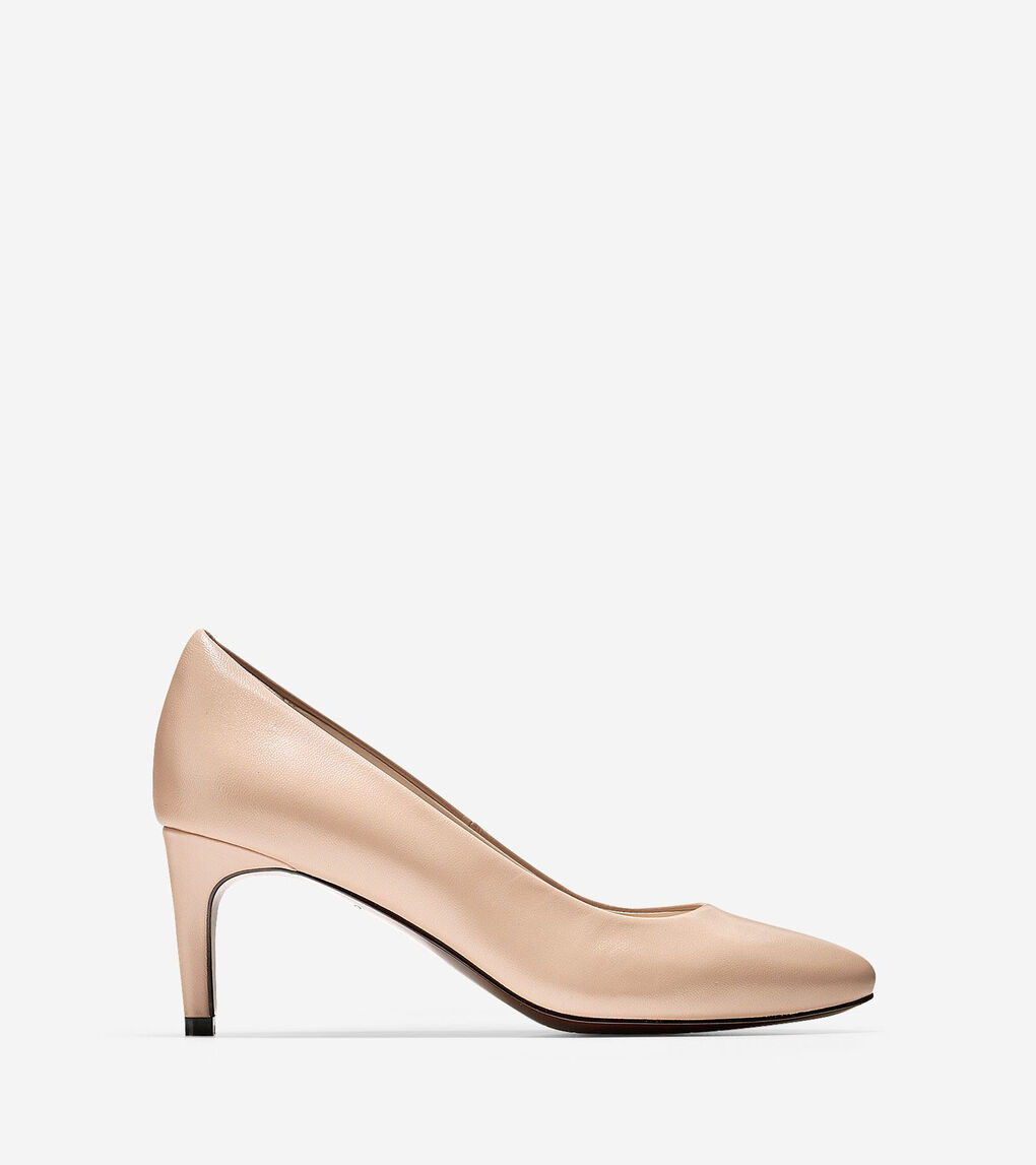 1fa9e2358 Women's Hellen Grand Pump (65mm) in Nude Leather | Cole Haan US