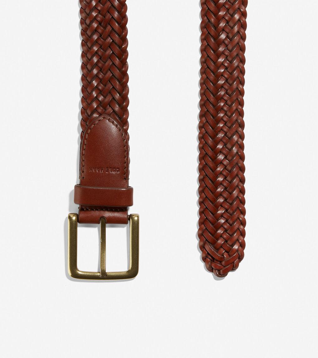 Mens Braided 35mm Belt