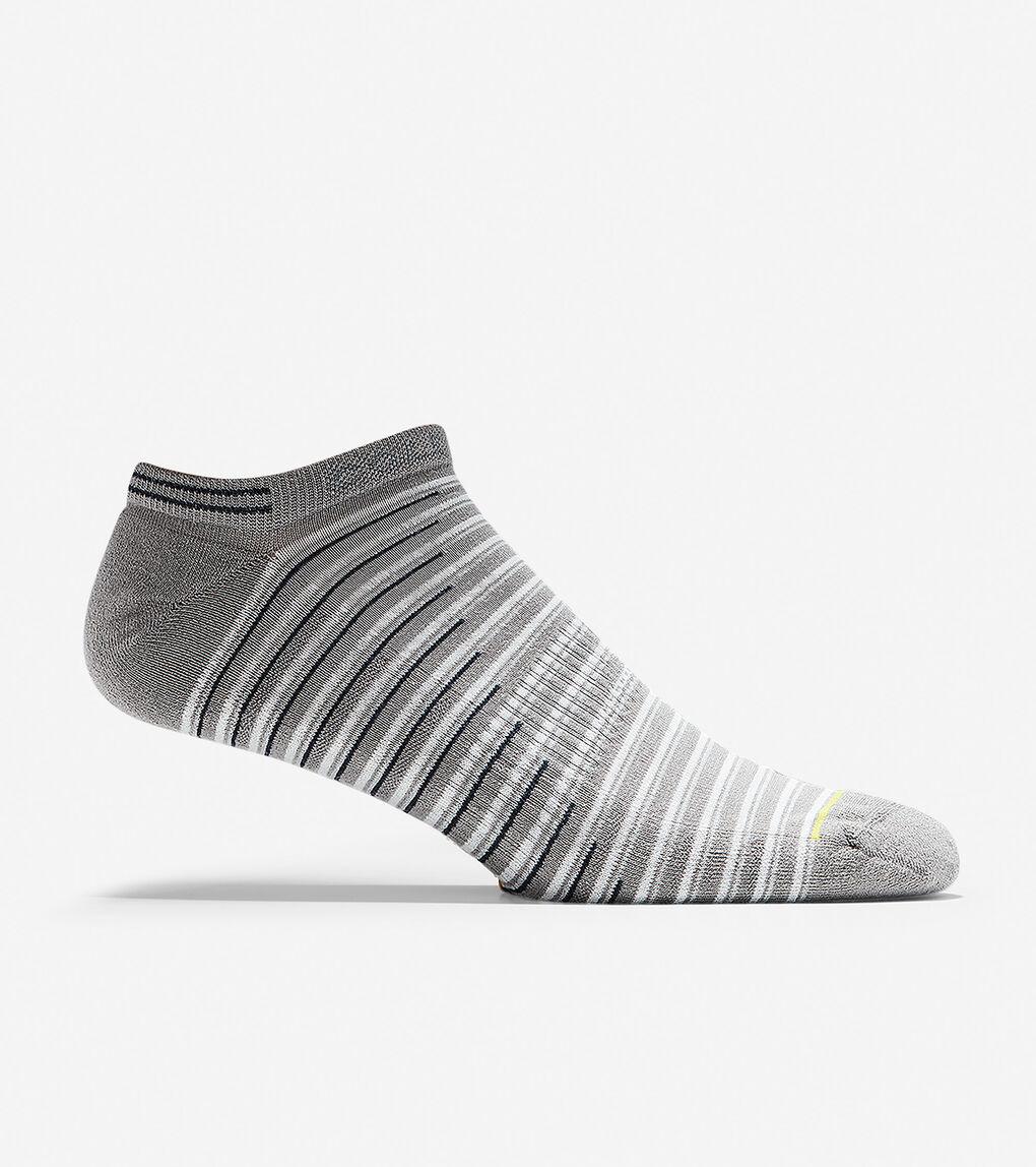 Mens ZERØGRAND Fine Stripe Sock Liner