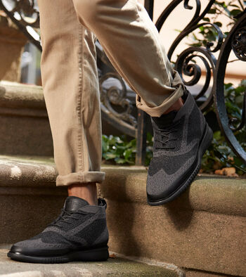Men's 2.ZERØGRAND Water Resistant Chukka with Stitchlite™