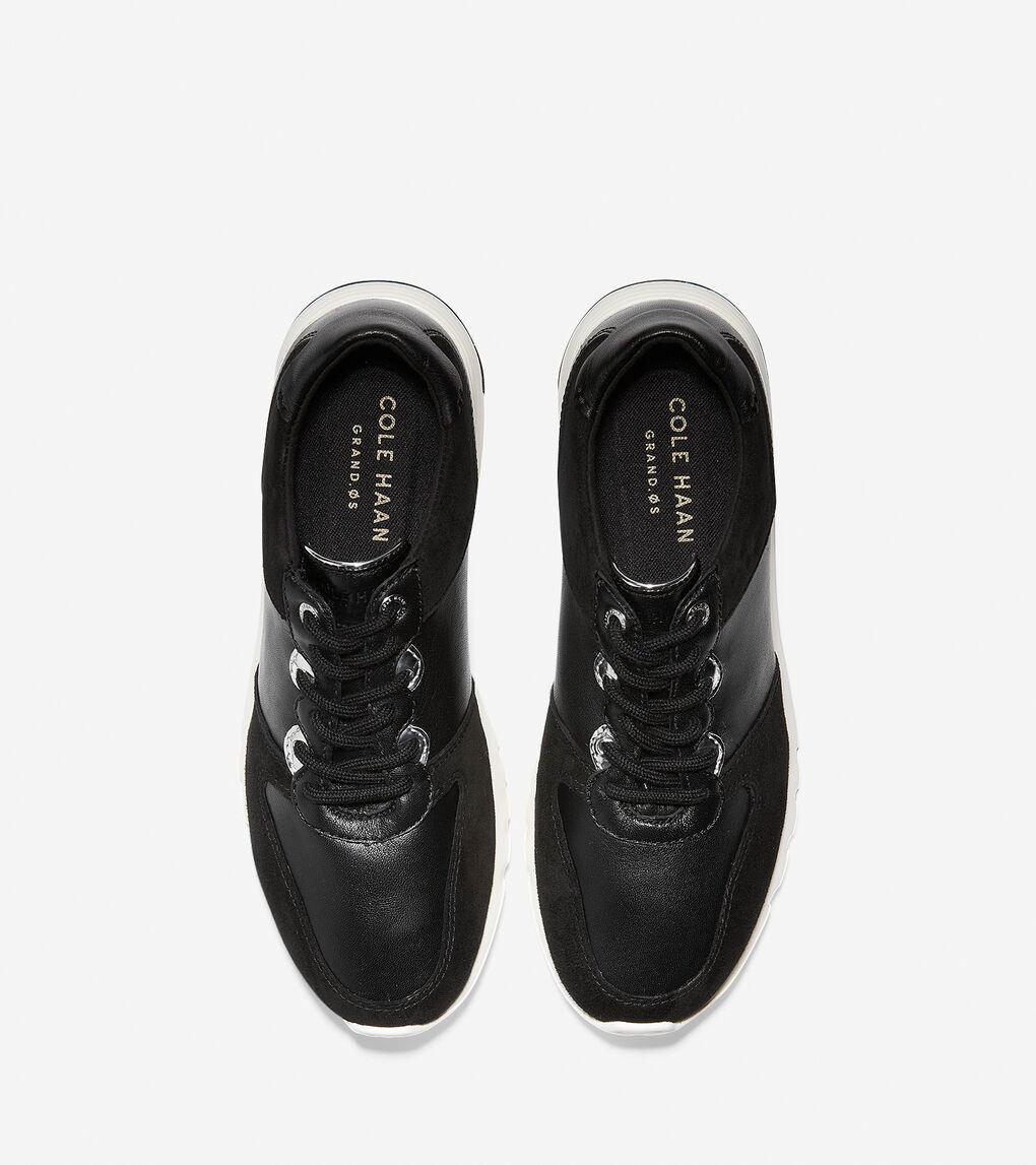 Women S Grand Crosscourt Wedge Sneaker In Black Optic