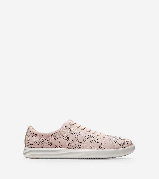 50-70% Off > Women's Grand Crosscourt Perforated Sneaker