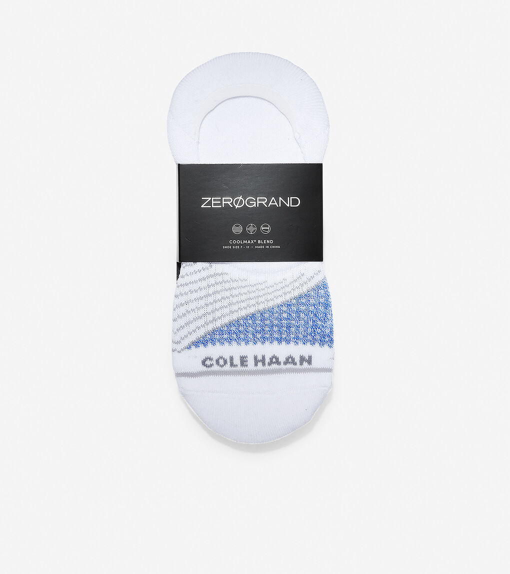 Mens ZERØGRAND Melange Color-block Sock Liner