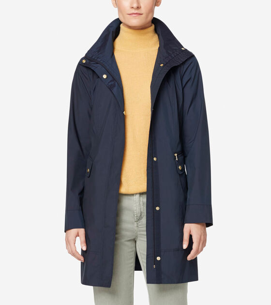 Outerwear > Travel Packable Classic Coat
