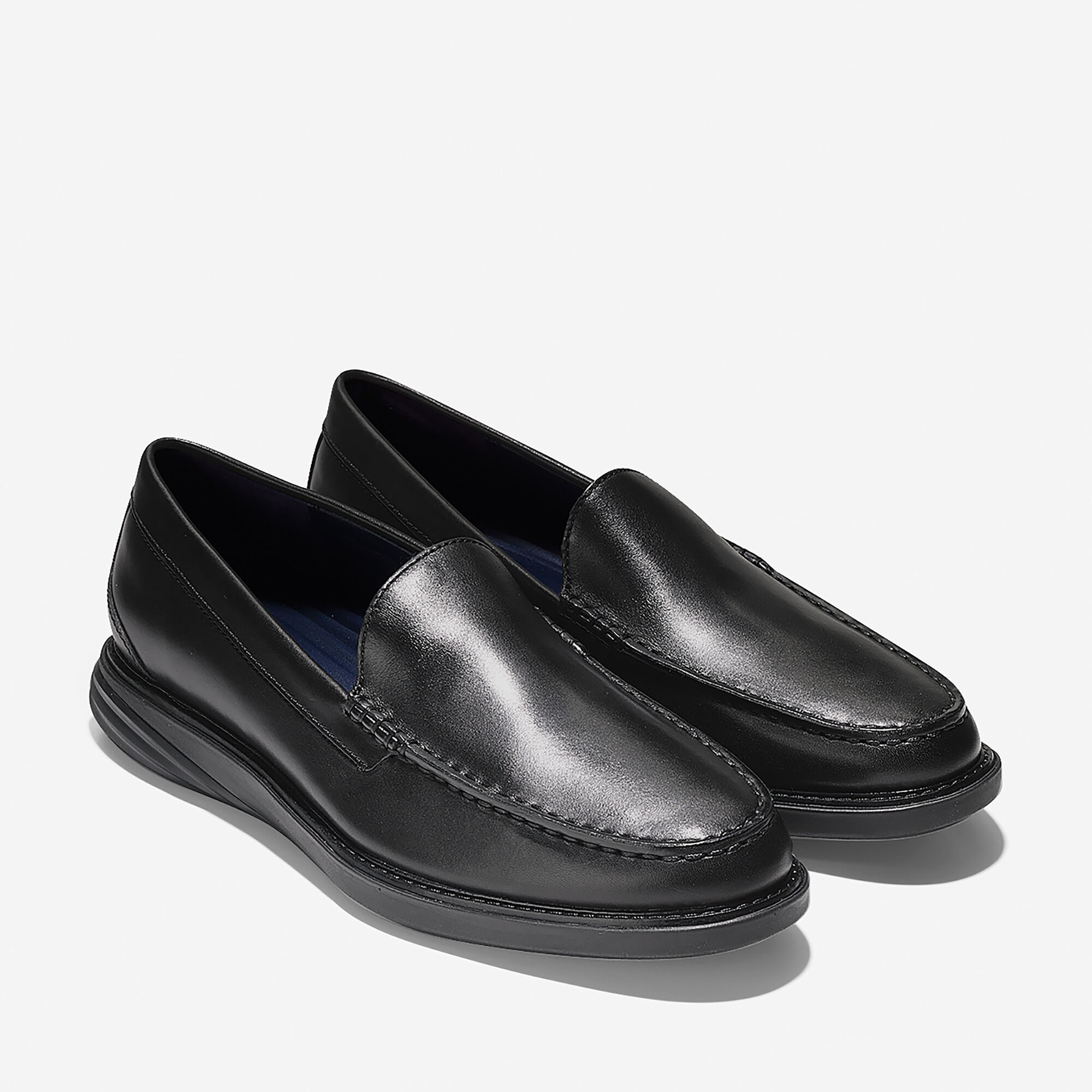 798008d916f Cole Haan Men s GrandEvølution Venetian Loafer in Black-black ...