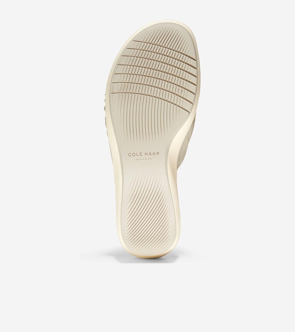 WOMENS Aubree Ruched Slide Sandal