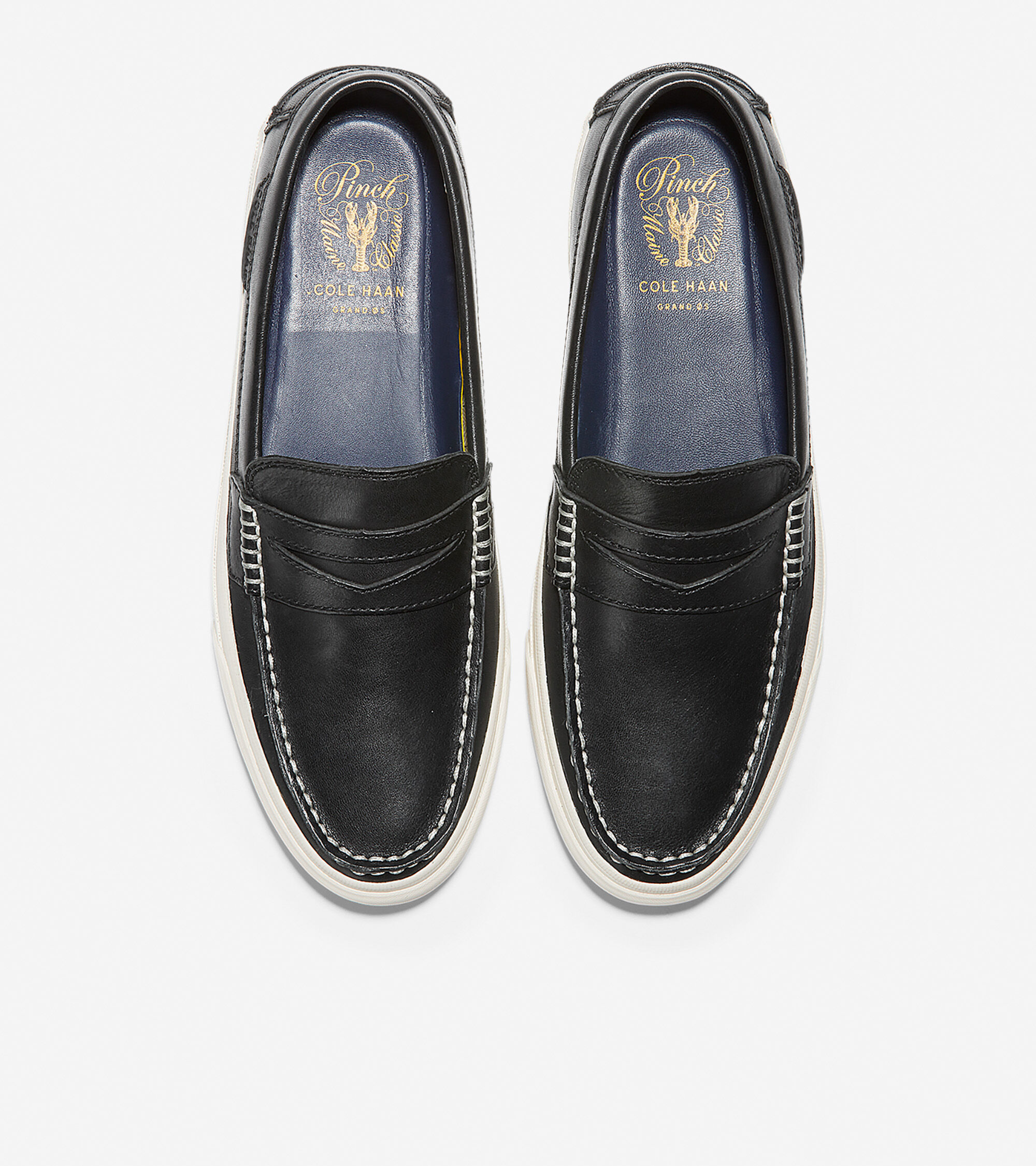 c072f6b53cd Men s Pinch Weekender LX Penny Loafers in Black-White