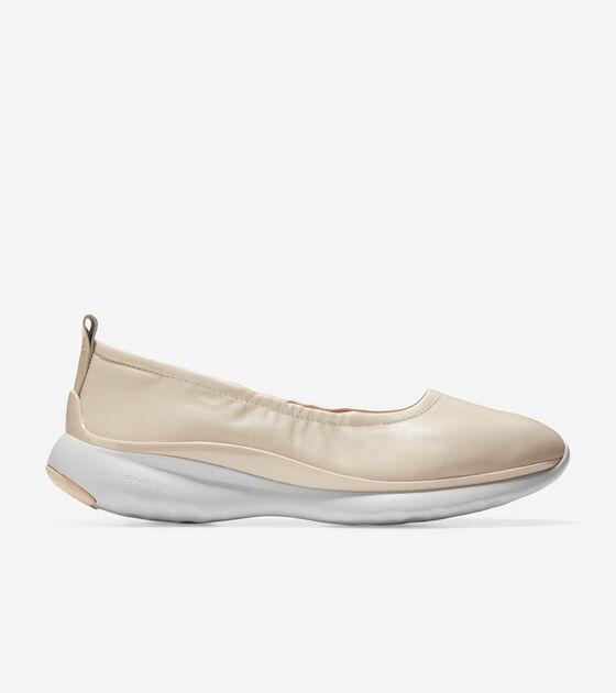 Ballet Flats > Women's 3.ZERØGRAND Ruched Slip-On Ballet Flat