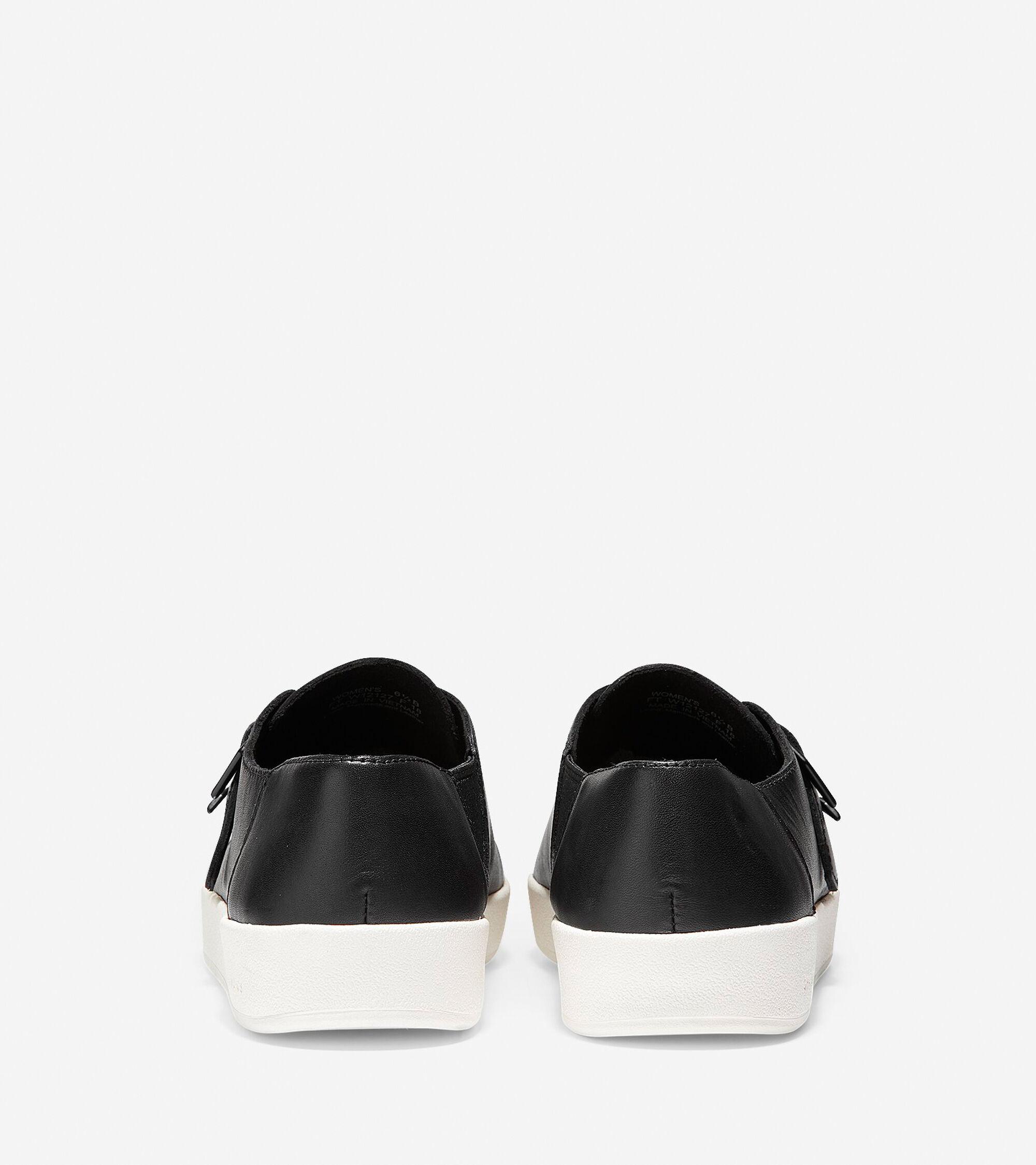 e164731a408b Women s GrandPro Spectator Monk Slip-On Sneakers in Black