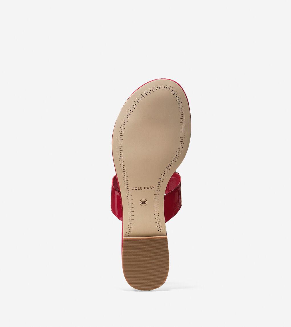 Womens Tali Bow Flat Sandal