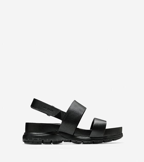 a25e7eb9c7a2 Women s ZEROGRAND Slide Sandals in Black
