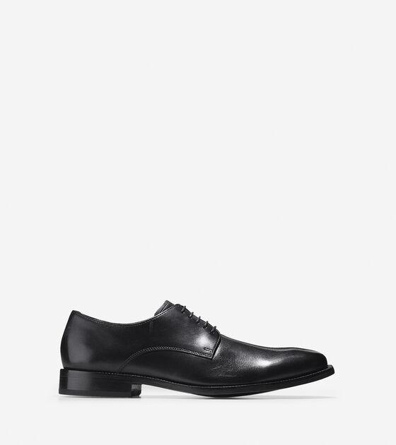 f3919f7dae8f Mens Williams Plain Toe Oxfords in Black