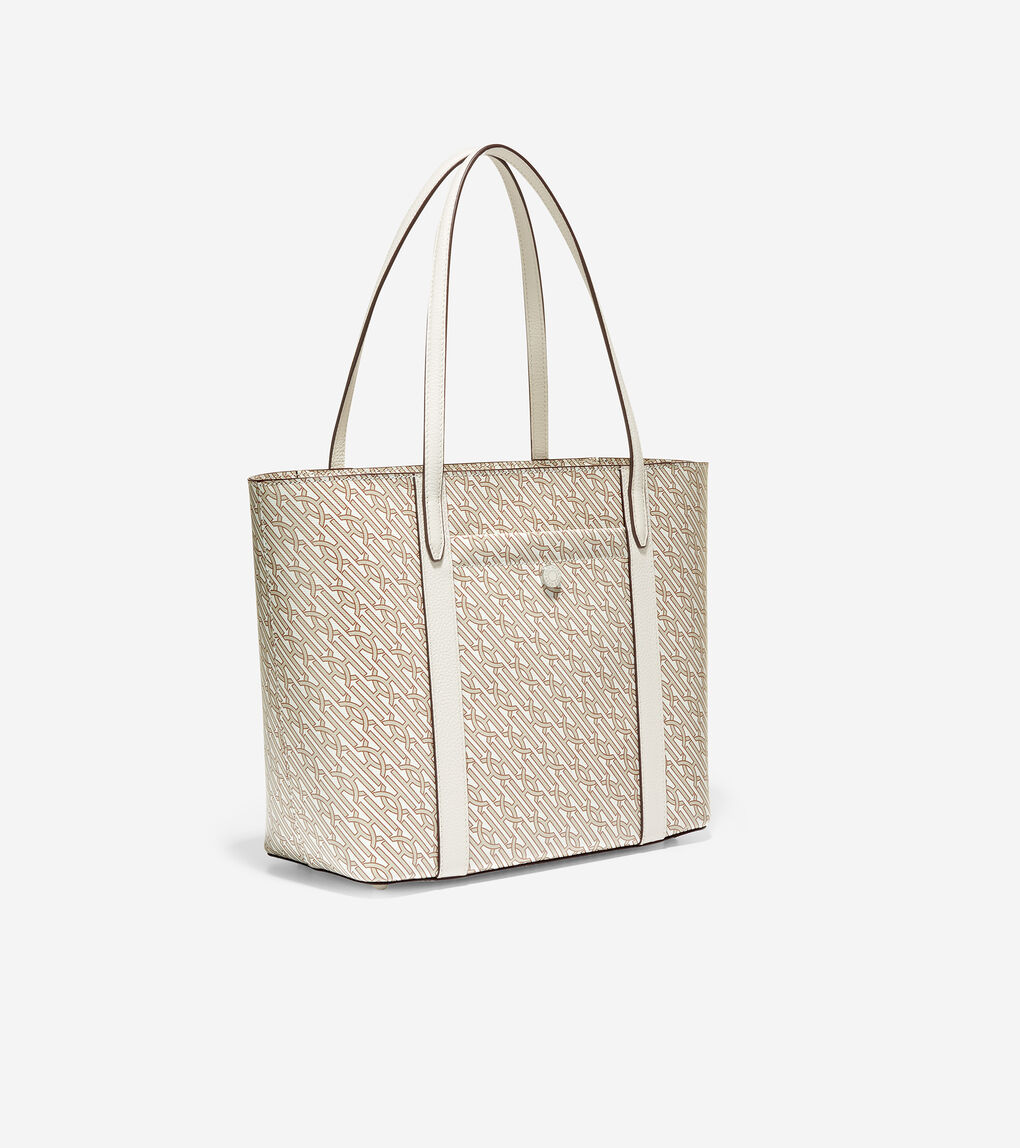 WOMENS Coated Canvas Small Tote