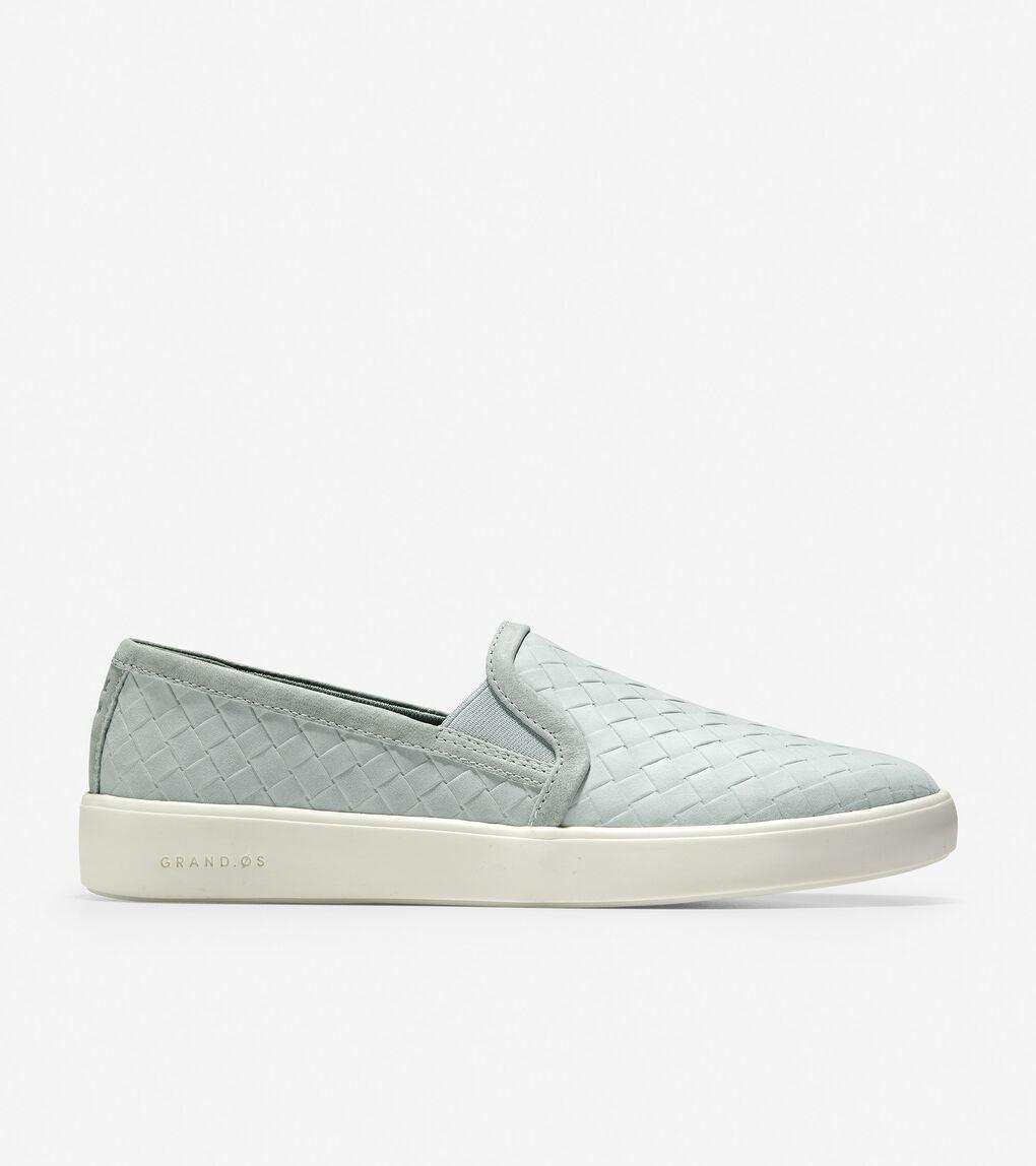 WOMENS Grand Crosscourt Slip-On Sneaker