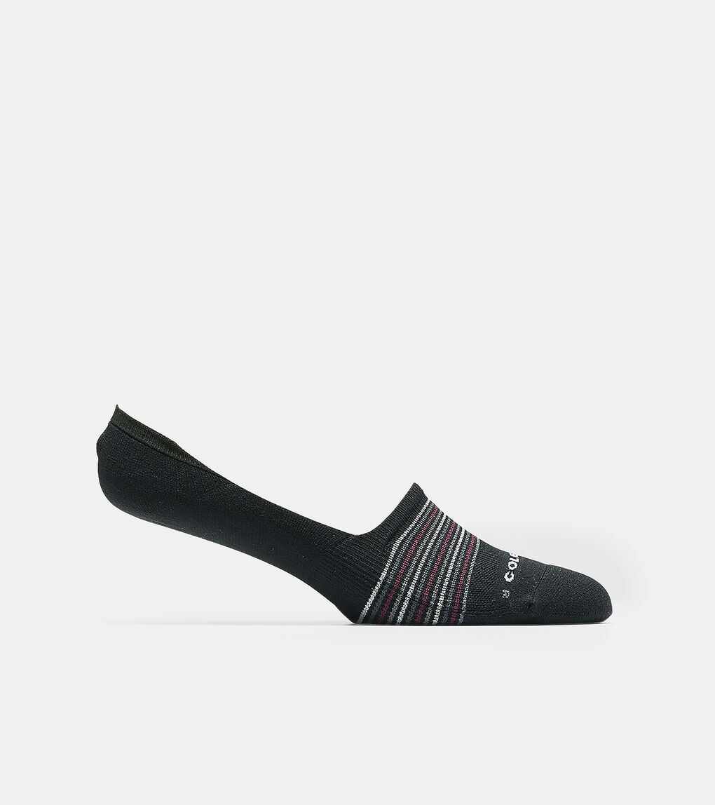 Mens Grand.ØS Multi-Stripe Crew Sock Liner