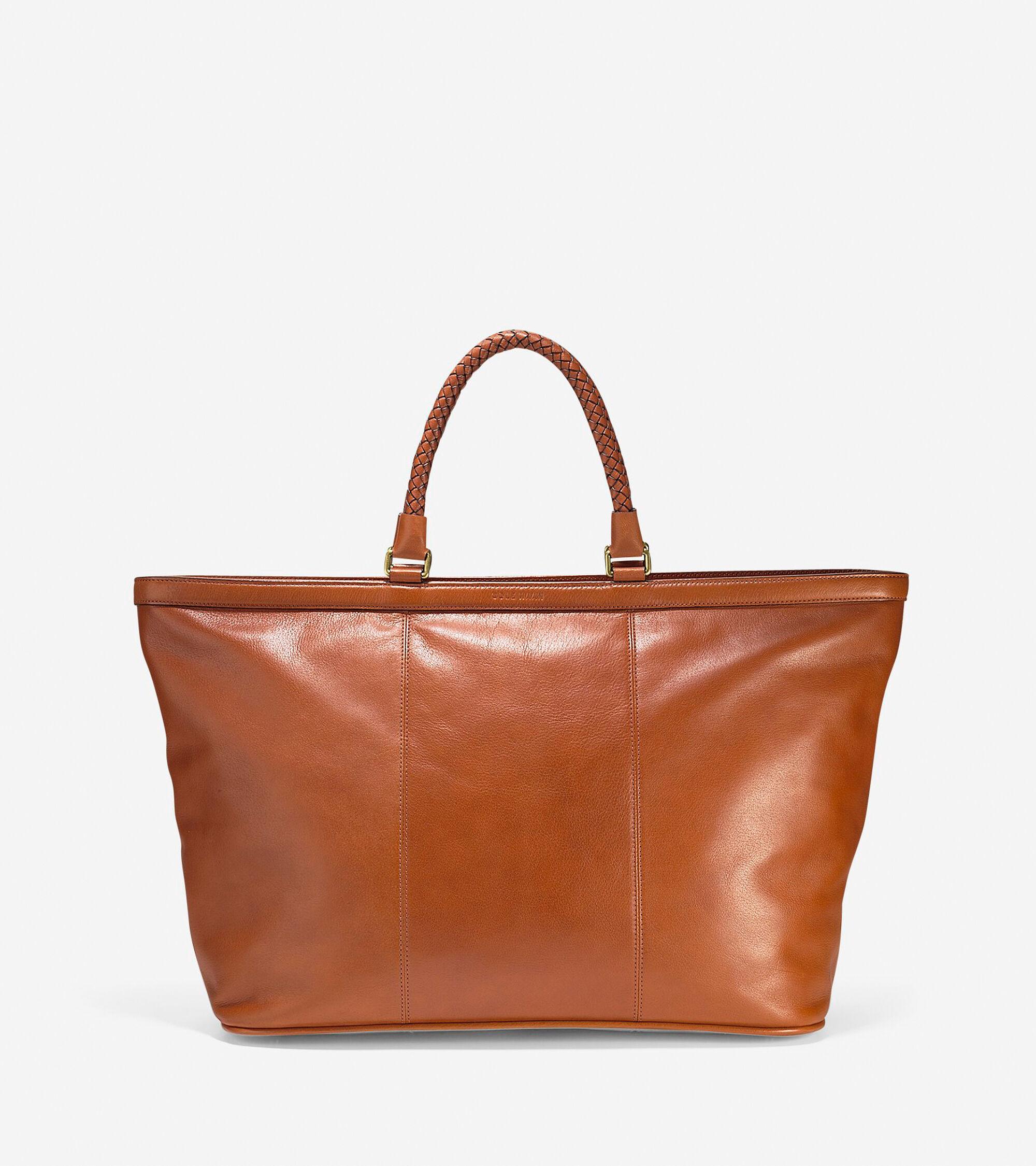 Pinch Heritage Leather Weekender