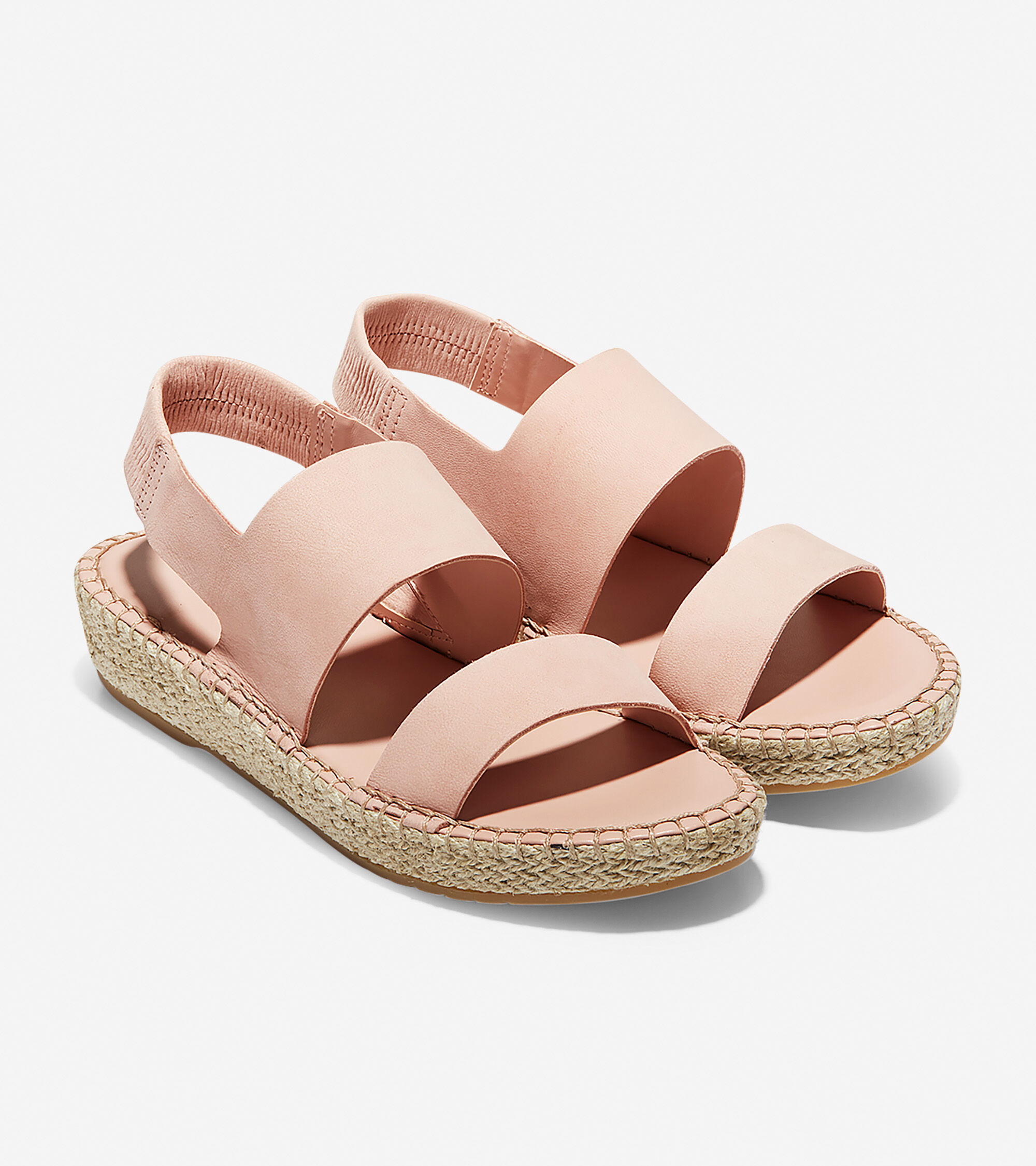 0b95ef5f68c Women s Cloudfeel Espadrille Wedges Sandals in Mahogany Rose