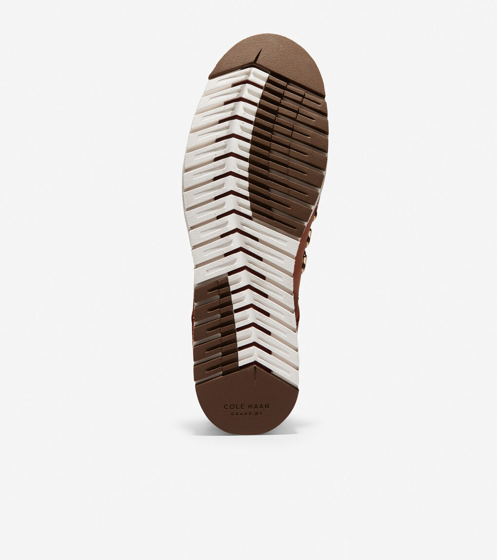 Womens ZERØGRAND Wedge Hiker Boot (65mm)