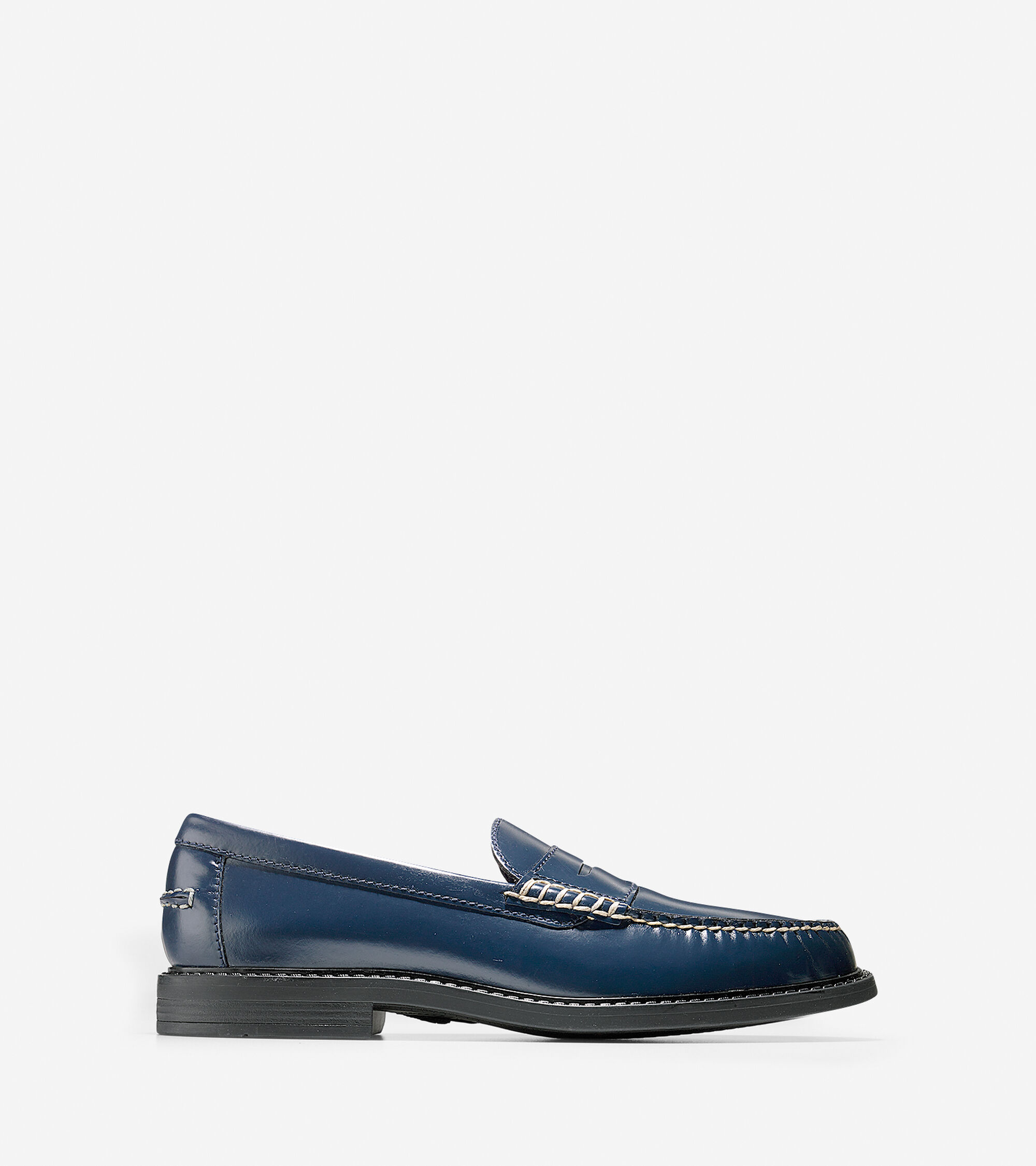 32ccc6abba7 Mens Pinch Campus Penny Loafers in Blazer Blue