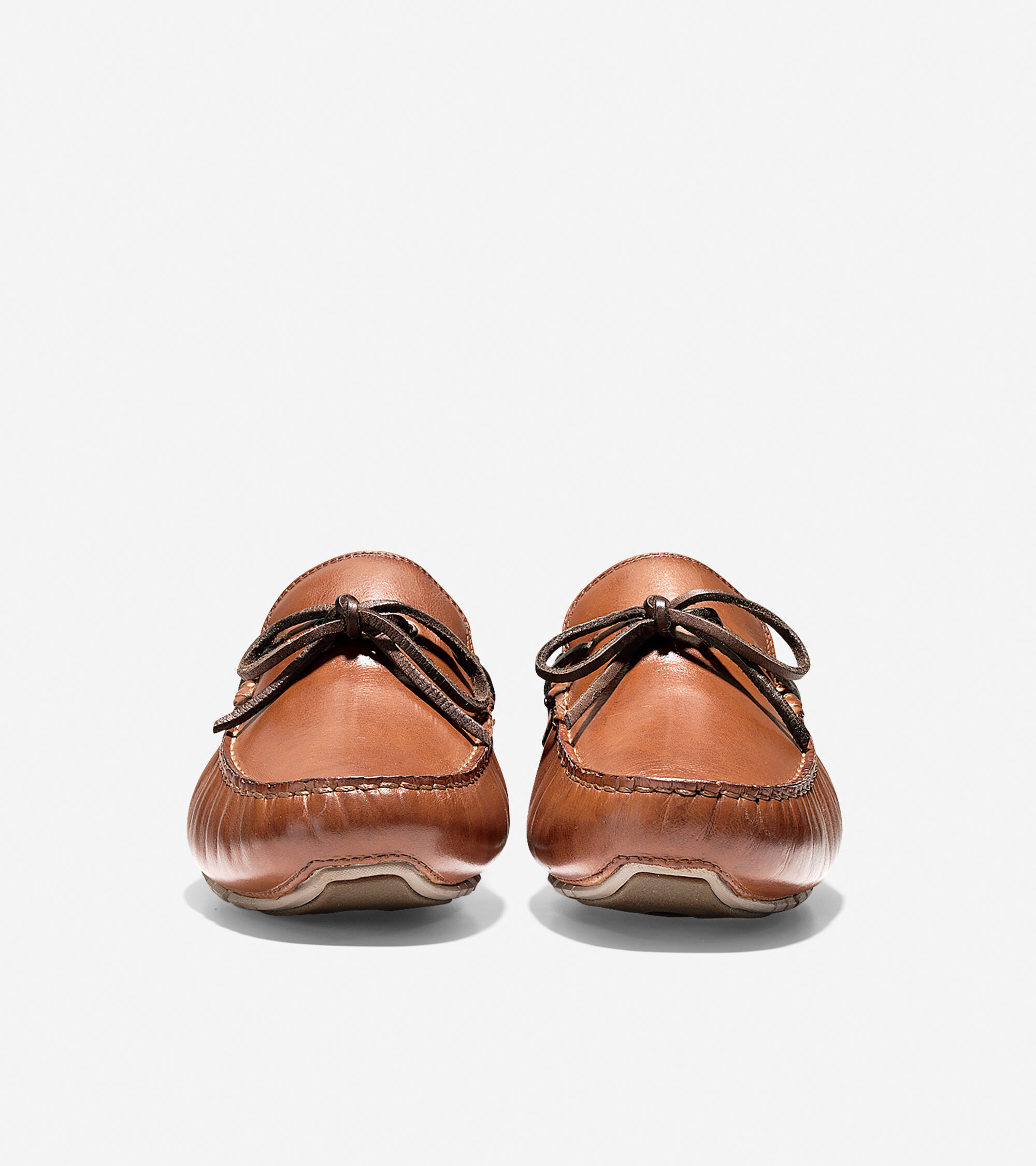 Mens Zerogrand Drivers In Papaya Leather Cole Haan D Island Shoes Casual Slip On England Suede Brown Zergrand Driver