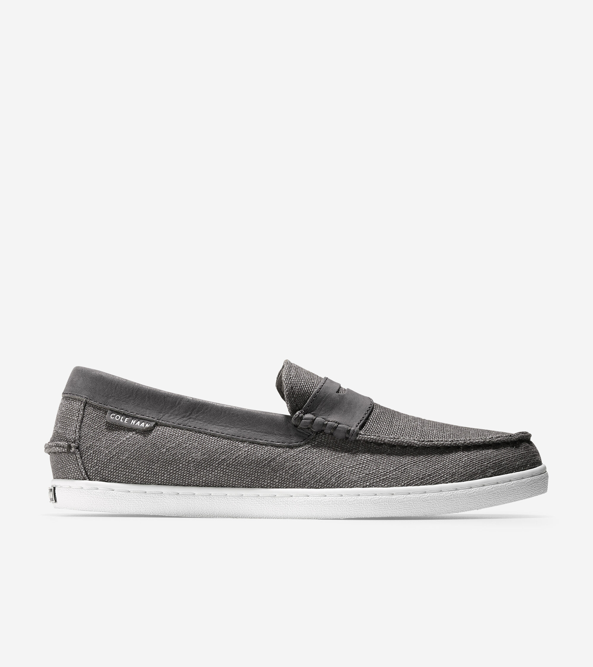 Pinch Weekender Loafer in Grey Canvas