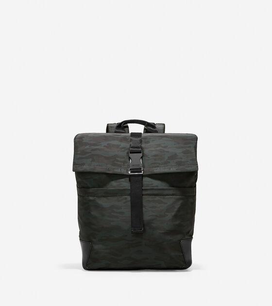 Bags > Sawyer Nylon Flap Backpack