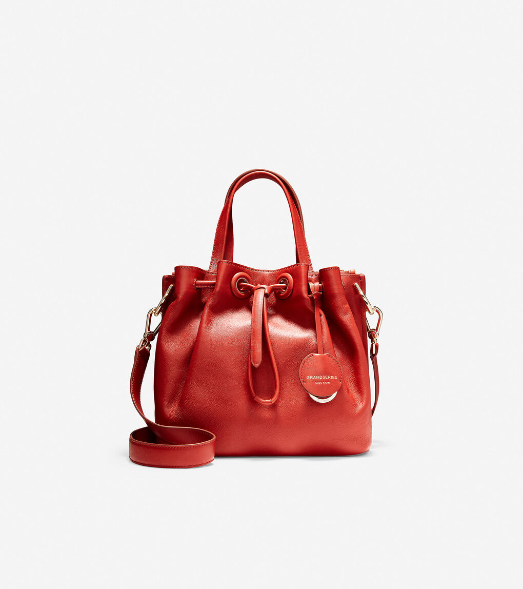Womens Grand Ambition Small Bucket Bag