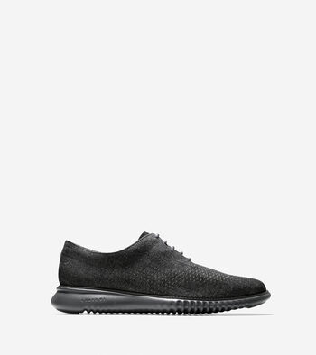 Men's 2.ZERØGRAND Unlined Laser Wingtip Oxford