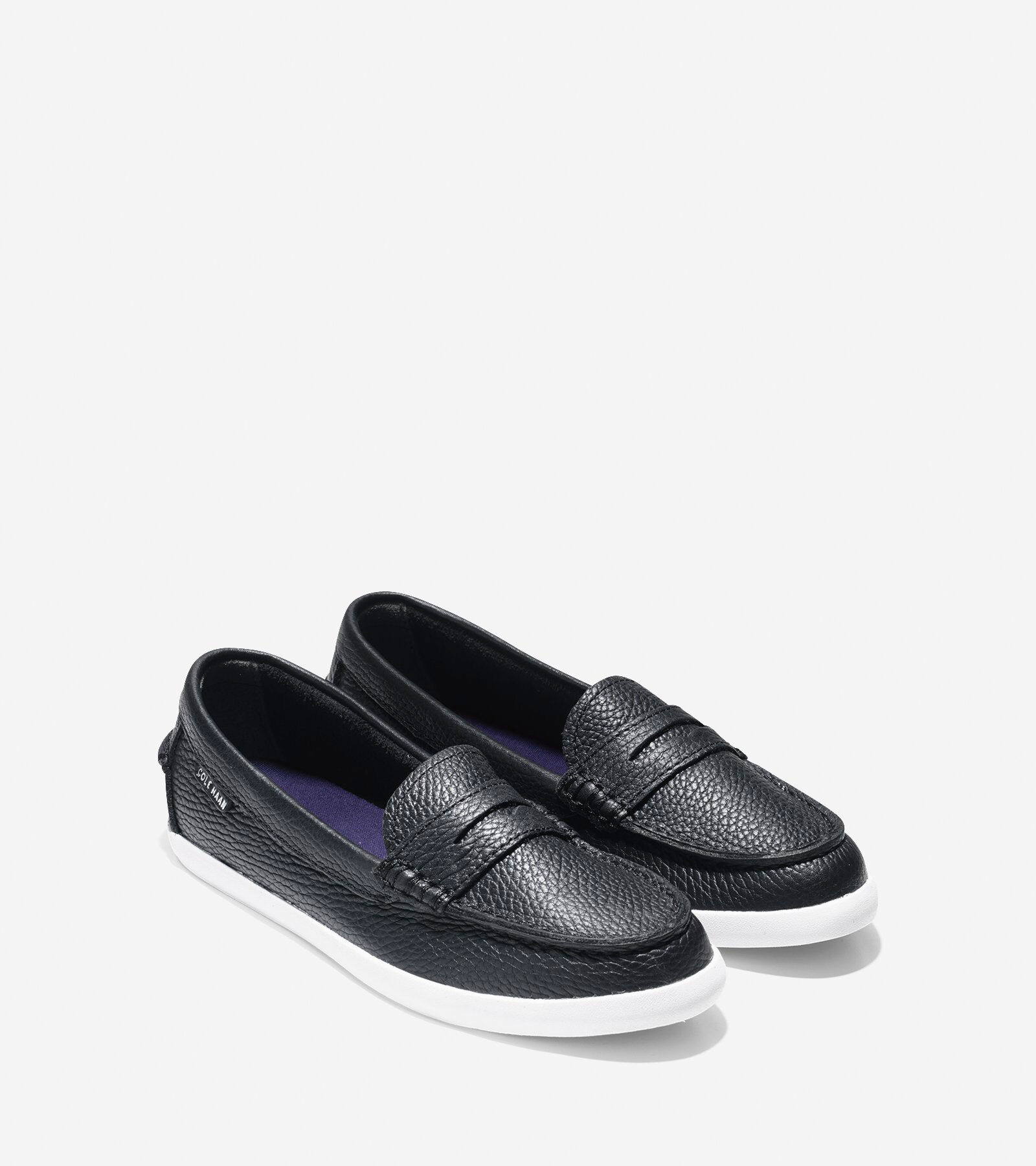 Nantucket Loafer in Black Leather