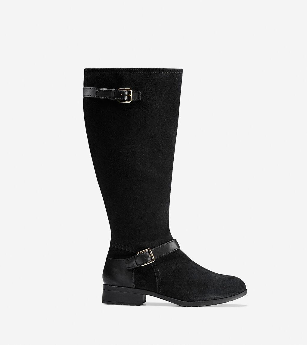 fc93681e114 Women's Marla Tall Boot (30mm) - Extended Calf in Black Waterproof ...