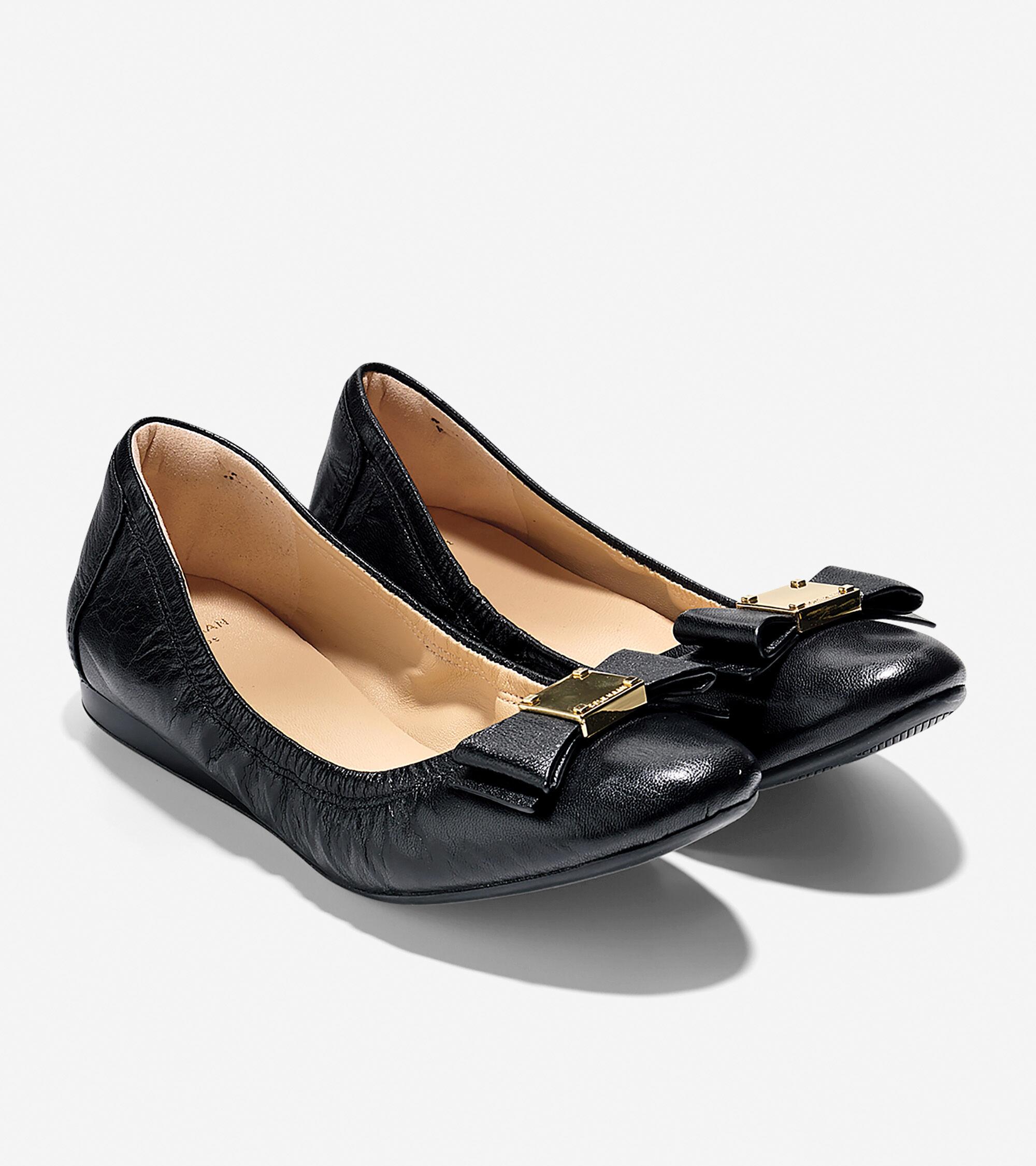 87a42a0d0e3f Women s Tali Bow Ballet Flats in Black