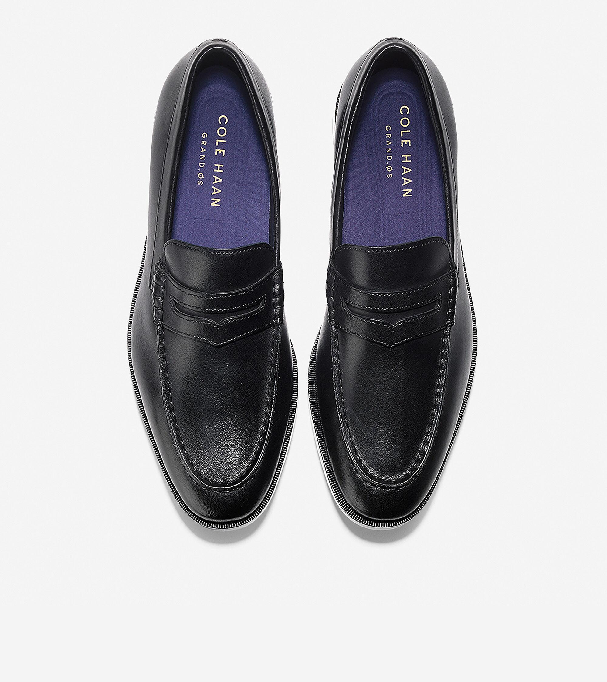 bc008561522 Men s Hamilton Grand Penny Loafers in Black