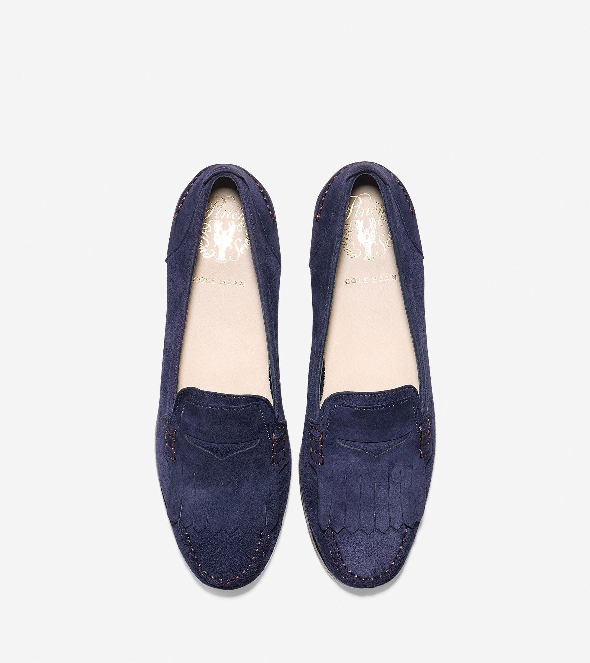 a6d28faebdd Women s Pinch Grand Kiltie Loafers in Marine Blue
