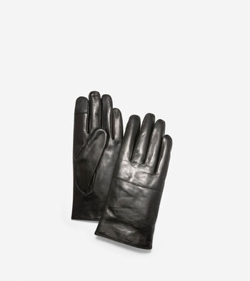 Leather Gloves with Horizontal Point
