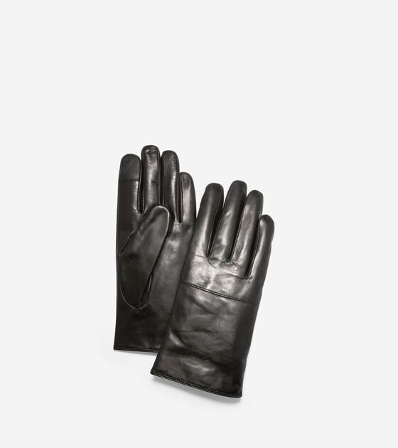 Bags & Outerwear > Leather Gloves with Horizontal Point