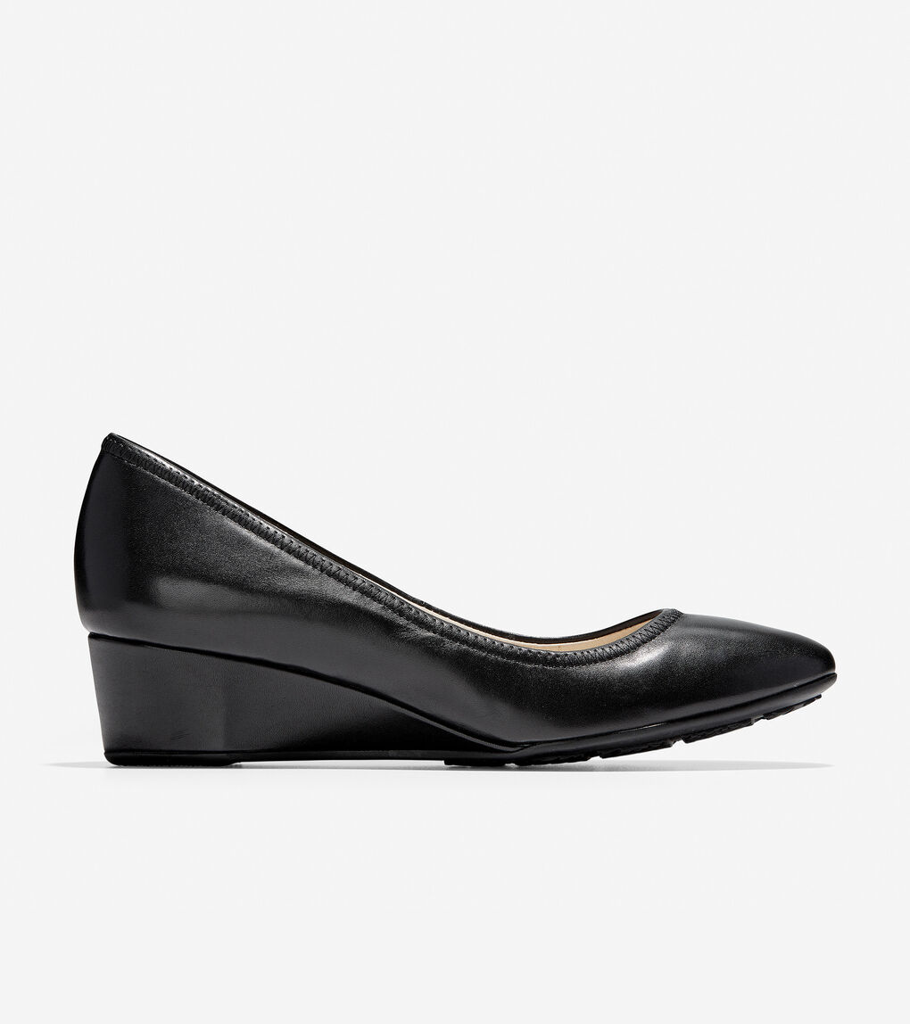 beaaa528cf Women's Sadie Wedge (40mm) in Black | Cole Haan US