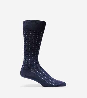Square Neat Crew Socks