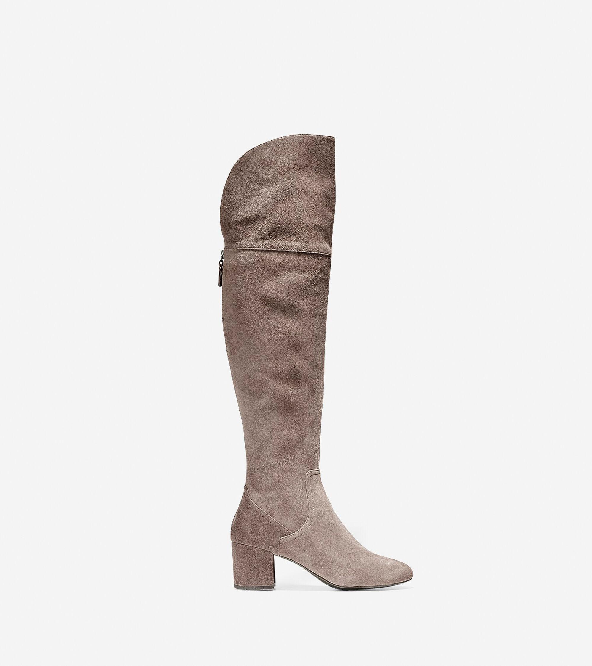 f9e68c44ed5 Women s Raina Grand Over The Knee Boots 55mm in Morel