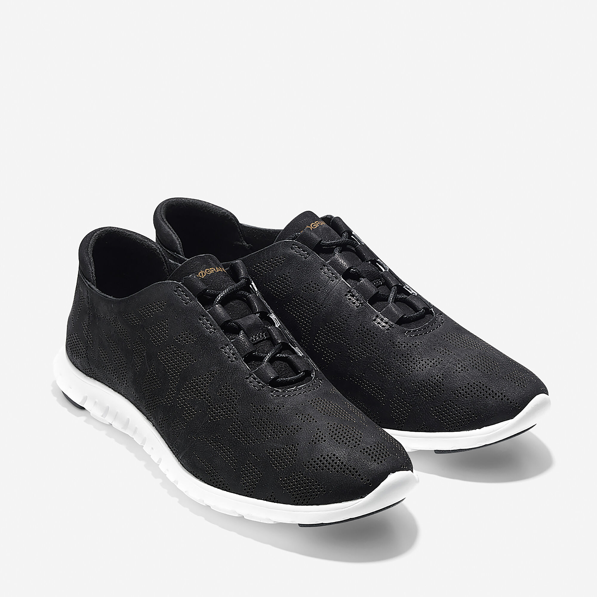 new products a3598 3a5da ... ZERØGRAND Perforated Trainer ...